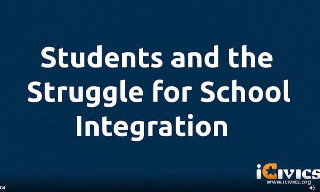 New Video On Teens Fighting School Segregation