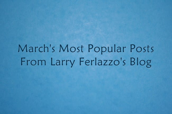 March's Most Popular Posts