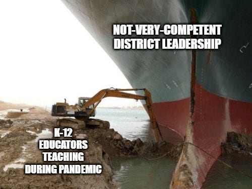 Here Is My Education-Related Suez Boat Meme (As Well As Others) – Plus How To Make Your Own!