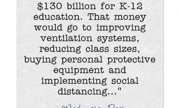 Senate Passes Stimulus Bill – It Looks Like Schools Should Get A Fair Amount Of Money