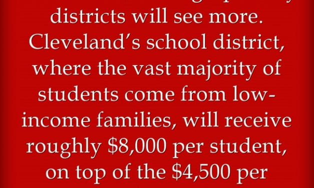 Statistics Of The Day: Here Are Details On Education Funding In The New Stimulus Package
