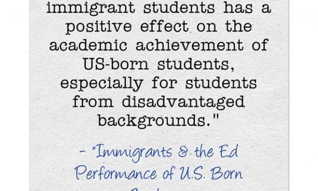 New Study Finds That The Presence Of Immigrant Students In Schools Helps Everybody, But Totally Misses Obvious Reason