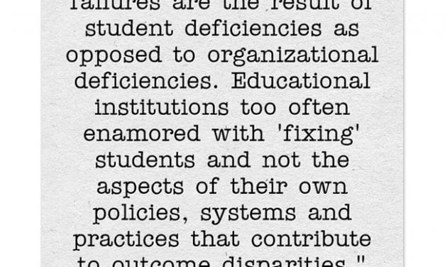 """Important Article On """"Deficit Models"""" In Education"""