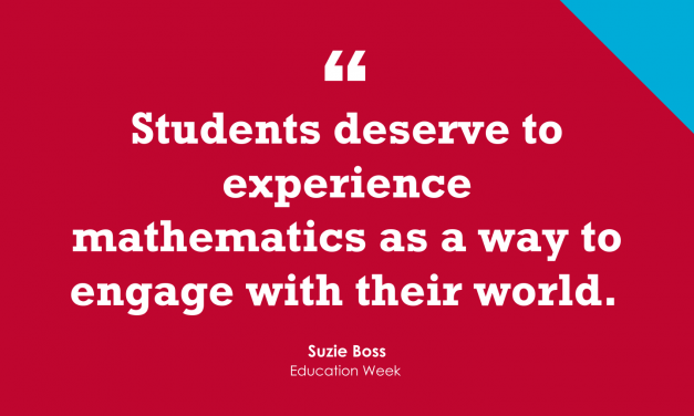Don't 'Make the Math Classroom a PBL-Free Zone'