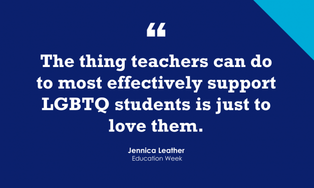 """""""Strategies for Supporting LGBTQ Students"""""""