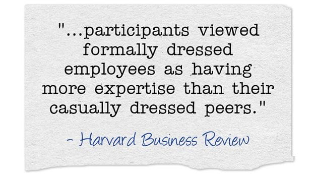 """Do Students View """"Formally Dressed"""" Teachers As Having More Expertise?"""