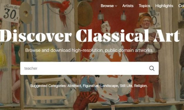"""""""Artvee"""" Is An Amazing Search Engine For Millions Of Public Domain Images From Museums Around The World"""