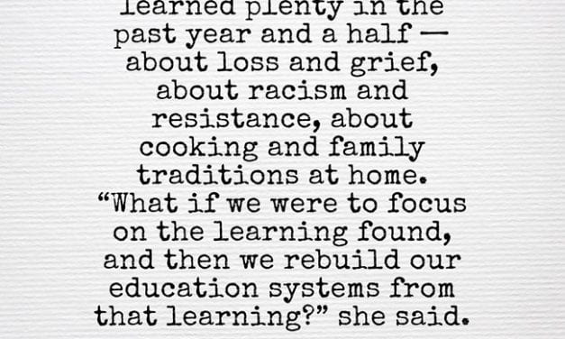 Another Day, Another Lamentation About Learning Loss