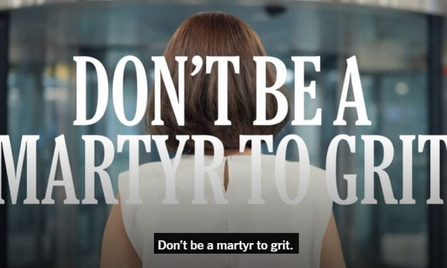 Excellent New NY Times Video On The Perils Of Grit